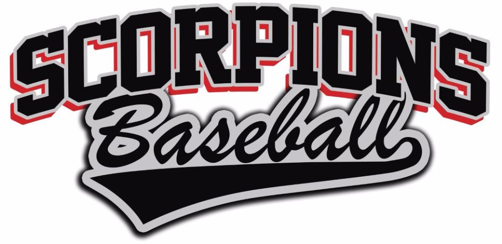 Scorpions Logo Baseball